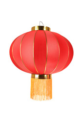 red lantern isolated