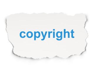 Advertising concept: Copyright