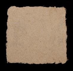 Paper from hemp fibers