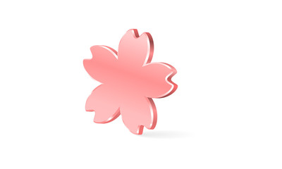 桜のアイコン素材