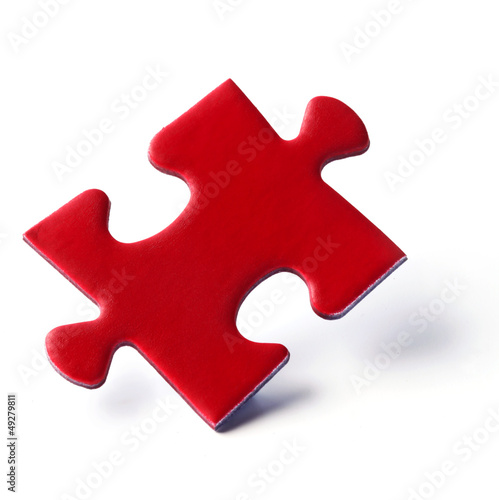 Jig Saw Puzzle - Red Piece