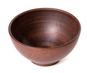 Empty ceramic bowl