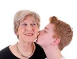 Küsschen vom Enkel