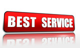 best service in red banner