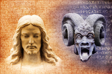 Jesus Christ and Satan the Devil