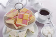 Battenberg Cakes and Tea
