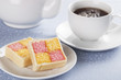 Battenberg Cake and Cuppa