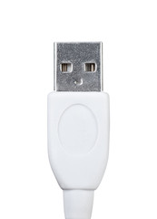 USB connector close up.