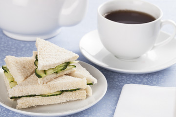 Cucumber Sandwiches and Tea