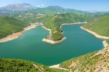 Fierza Lake, Albania