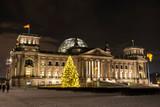 Fototapeta parlamentu - zima - Inne