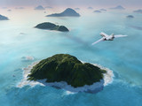 Fototapete Airplane - Reisen - Flugzeug