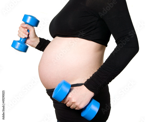 Pregnant training with two simulators