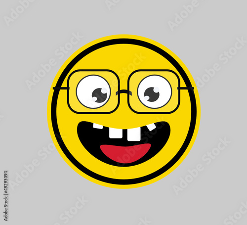 Nerd - SMILEY FACE