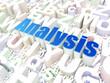 Marketing concept: Analysis on alphabet