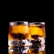 Rum mit Eis