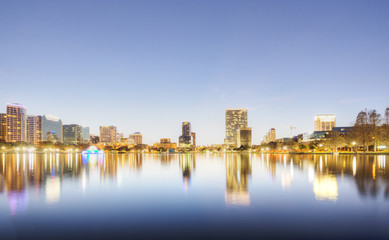 Orlando at Lake Eola Park