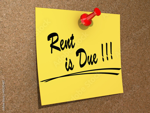 Rent is Due