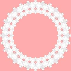 circle lace frame set