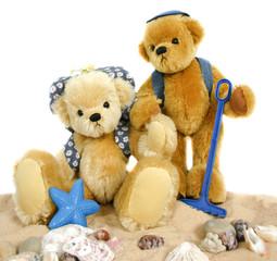 Teddies on the Beach
