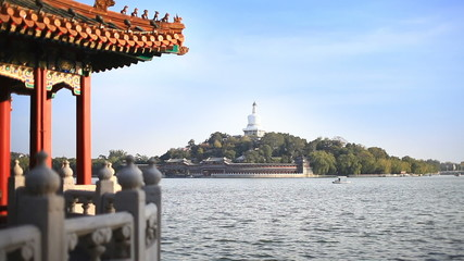 Beautiful Scene of Beijing: Beihai Park