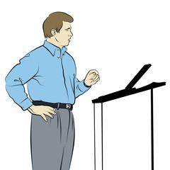 Speaker Drawing