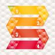creative template hexagon