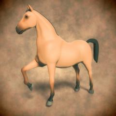 caballo retro