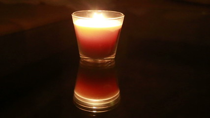 candle light in the dark Full HD