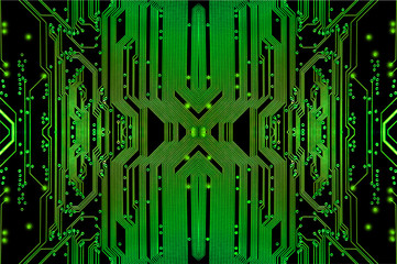 Electric circuit background