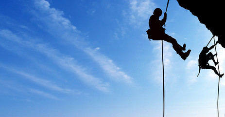 climbers.