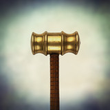 brass head gavel
