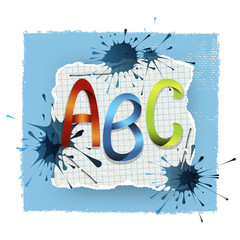 ABC background