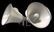 Horn Loudspeakers Facing Out
