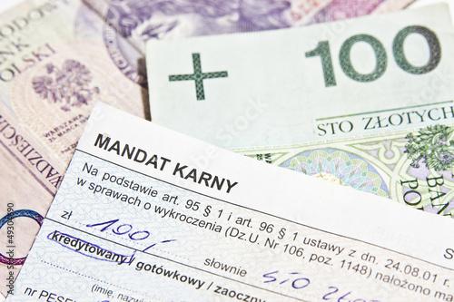 Mandat Karny - 49304690
