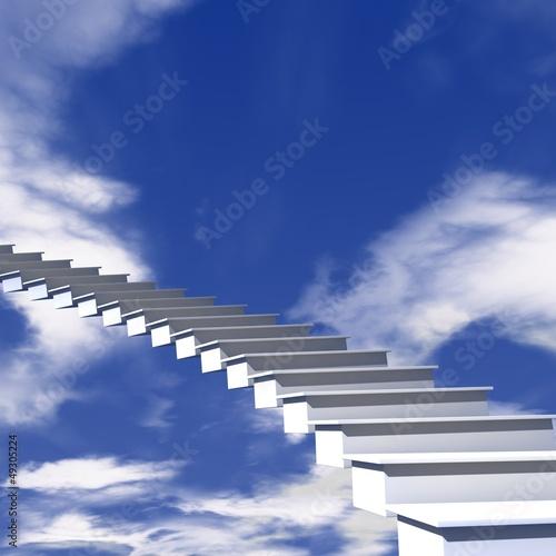 Treppe in den Himmel