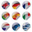 World flag labels