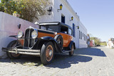 vintage car in Colonia street