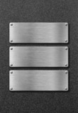 Fototapete Abstrakt - Aluminium - Metall