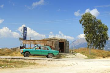 Albania, Straw Built Stall