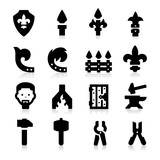 Iron Works Icons