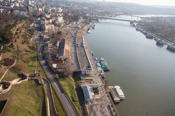 Belgrade, Serbia, riverbank