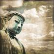 Bouddha vintage - Kamakura, Japon