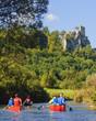 Kanu-Tour auf einem idyllischen Fluss