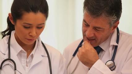 Video of talking doctors