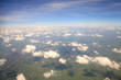 view of cloudscape and earth