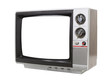 Worn Old Grungy Portable Television