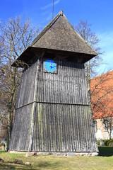 Kirchturm Dorfkirche Altenkirchen, Insel Rügen