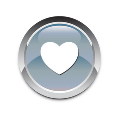 Web icon love