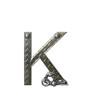 Alphabet Metal Shop K